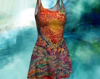 Fit and Flare Dress - Awaken Batik