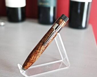 Woody Style Curly Koa Pen