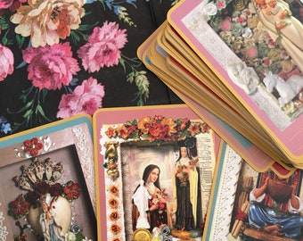 Reserved for Melodie - Mysteries of Mary tarot deck - cards only