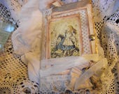 A Alice In Wonderland  Junk Journal Fully Loaded With Lots  of Cards And Pockets Also Journaling Pages  For Writing And Scrap Booking