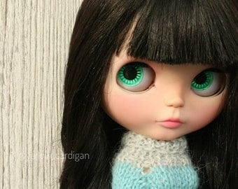 Custom Blythe doll Briana dark hair