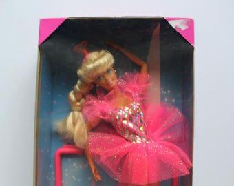 Vintage Mattel Twirling Ballerina Barbie Doll NEW 1995