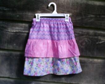 Girl's Ruffle Skirt Size 7.