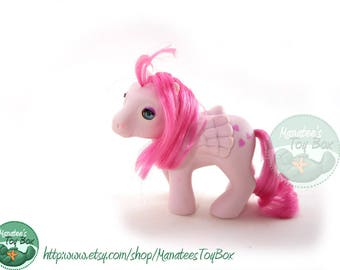 Vintage My Little Pony Baby Heartthrob with Beddy Bye Eyes by Hasbro