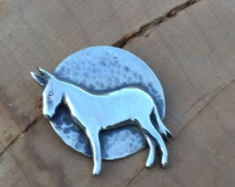 Mule Necklace Pendant