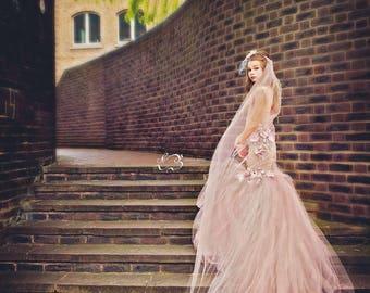 Girls mermaid dress, Jessica couture mermaid gown