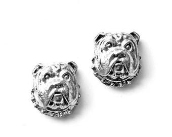 Limited Time Offer Bulldog Cufflinks - Gifts for Men - Anniversary Gift - Handmade - Gift Box Included