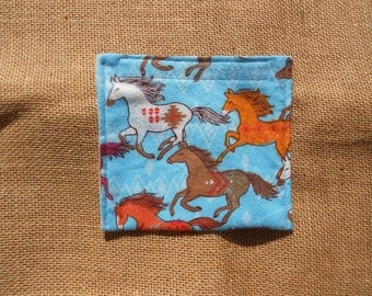 Reusable snack bag, snack bag, reusable bag, snack pouch, environmentally friendly, food safe fabric, food safe bag, washable bag, horse