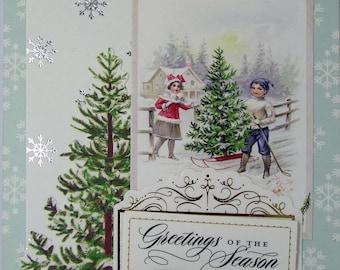 Greetings Of The Season Christmas Card 2017
