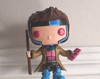 Made to order Gambit  custom resin funko pop allow 5-7 days for shipping.