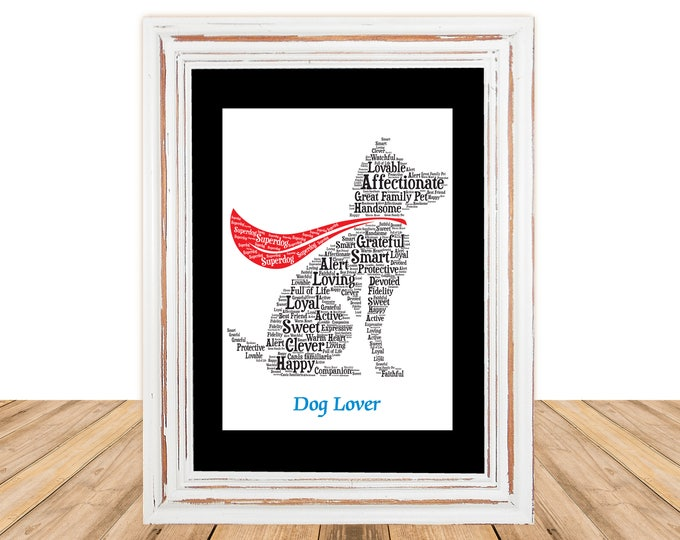 All Breeds,Mixed Breeds, Dog Lover, Personalize Art, Personalize Artwork, Pet Gift, Dog Gifts Under 25, Christmas Gift, Gift Ideas, Under 30