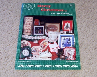 Merry Christmas Cross Stitch Book, From Cross My Heart