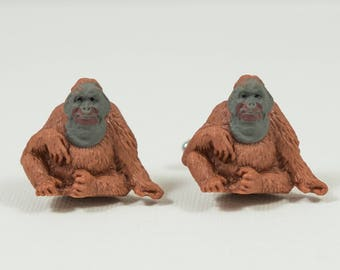 Orangutan Cufflinks