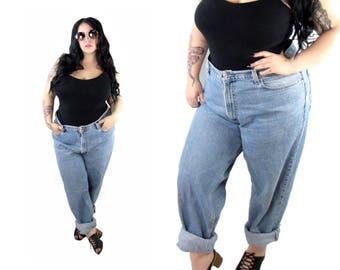 Plus Size 1990's Vintage Levi Boyfriend Jeans - Size 1X