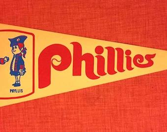 Vintage Philadelphia Phillies Pennant