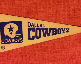Vintage Dallas Cowboys Mini Pennant