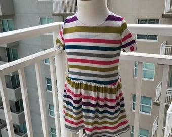 70% Off Striped Knit Dress Size 1/2 (9-12months)