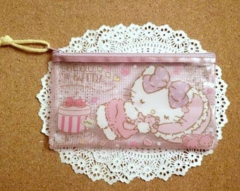 Hello kitty cosmetic bag,pencil bag, zipper pouch sanrio,pencil case
