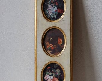 Gilt Framed Italian Prints Georgian Gallery Import Wall Decor Made in Italy Floretine