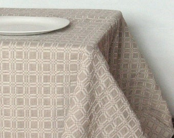 Linen Tablecloth Tablecloths Linen Gray Washed Linen Table Gray Tablecloth  Large Tablecloth Linen Table Cloth Square
