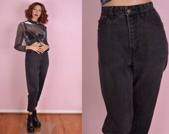 80s Guess High Waisted Jeans/ 28.5 Waist/ 1980s/ Denim