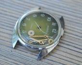 Vintage Soviet Russian wrist watch empty case.