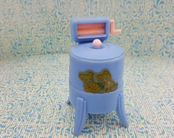 Renwal  Ringer Washer with agitator Household  Toy Dollhouse  Blue Washing Machine laundry