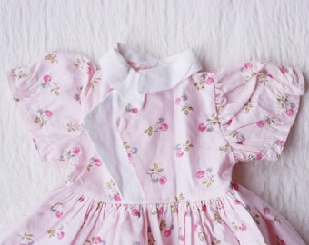 Vintage Doll Cherry Dress,