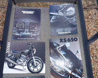 Vintage Yamaha motorcycle brochures and articles 1978 & 79