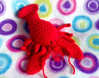 Lobster Amigurumi Plush