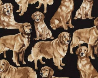 Golden Retrievers by Timeless Treasures