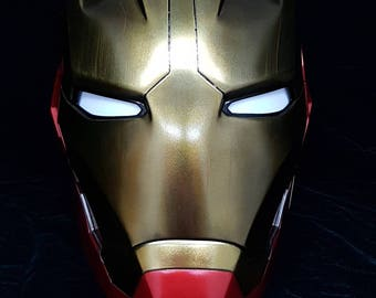 Iron Man Mk 45 Helmet RAW Cast Resin Kit.***RAW CAST***  This listing is not for a painted helmet.