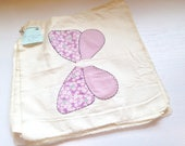 18 Vintage Unfinished Butterfly Quilt Blocks
