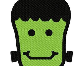Frankenstein Embroidery Design - Instant Download