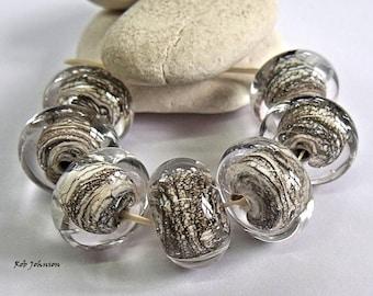 Rock Face, Lampwork Beads, SRA, UK