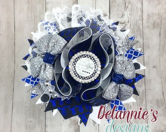 I Can Do All Things Boutique Bow ~Stacked Bow ~