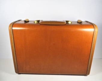 Samsonite Caramel Brown Small Suitcase - Caramel Brown Samsonite Luggage