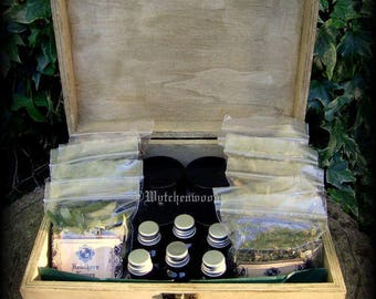 Traditional English Cunning Cabinet - Witchcraft, Shaman, Druid, Celtic, Wicca, Pagan