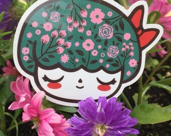 Persephone 2-inch vinyl stickers - pack of 2