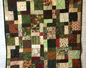 Stroller quilt | Etsy : hunting themed quilt patterns - Adamdwight.com