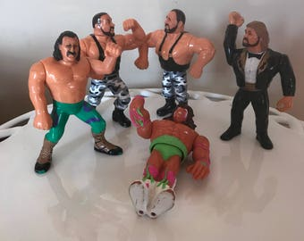 Wrestling figures- Bushwhackers