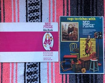 Vintage Modge Podge How-To Magazines