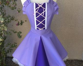 Rapunzel apron dress