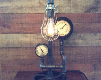 Double Gauge Pipe Lamp