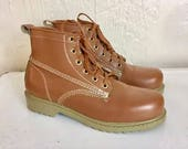 Deadstock Work Boots Lace...