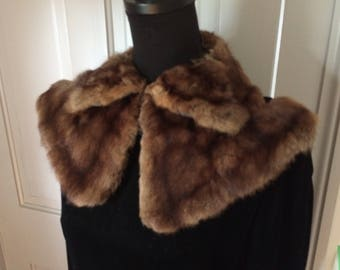 Vintage Fur Collar FREE US SHIP