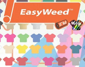10 Pack Siser EasyWeed Heat Transfer Vinyl Bundle