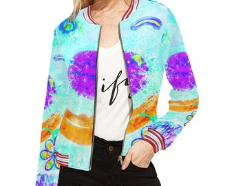 Assorted Creator Jacket and sweatpants-women Jacket-artistic design-original beautiful clothes-jacket and pants-from XS to 2XL-made to order