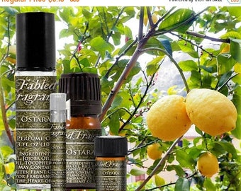 SALE OSTARA - Perfume Oil with Lime, Lemon Verbena, Basil, Vanilla - Spring Goddess, Vernal Equinox, VEGAN Solid Perfume, Ships Out in 5-7 D