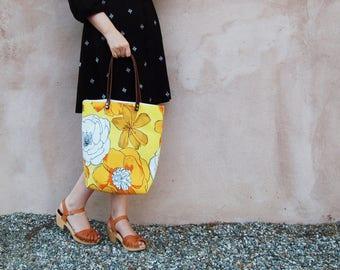 Bohemian Womens Tote Bag, Floral Boho Tote Bag, Shoulder Bag, Tote Purse, Tote Bag Leather, Modern Bohemian Tote Bag, Gift for Women